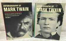 Autobiography of Mark Twain Volumes 1 & 2 Edited by Harriet Smith 2010/2013