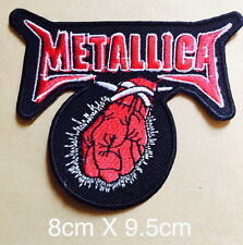 #2023 METALLICA Embroidered Rock punk music  Band Iron On or Sew On Patch