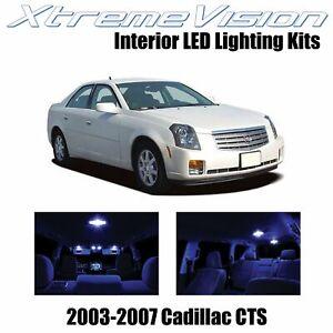 XtremeVision Interior LED for Cadillac CTS 2003-2007 (5 PCS) Blue