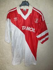 Maillot A.S MONACO 1992 vintage ADIDAS Tamoil home shirt trikot maglia XS