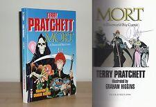 Terry Pratchett & Graham Higgins - Mort - Signed - 1st/1st