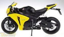 Motos et quads miniatures jaune pour Honda 1:12