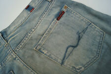 7 SEVEN FOR ALL MANKIND Standard Herren Men Jeans Hose 29/32 W29 L32 blau used#u