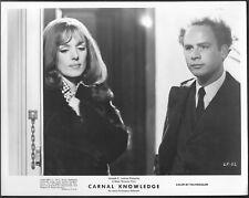 ~ Art Garfunkel Cynthia O'Neal Original 1971 Promo Photo Carnal Knowledge