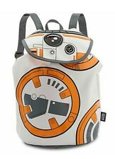 Disney Store Book Bag Star Wars The Force Awakens BB-8 Fashion Backpack faux Lea