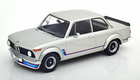 BMW 2002 TURBO E20 1973 SILVER VERY NICE 1:18 SCALE MODEL IDEAL DISPLAY PIECE.