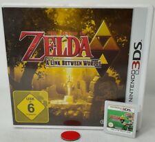 The Legend of Zelda A Link Between Worlds | Nintendo DS | 3DS |gebraucht mit OVP