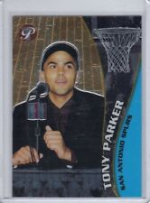 2001-02 Topps Pristine Base Rookie #108 Tony Parker RC