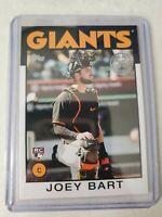 Joey Bart 2021 Series 1 1986 Topps #86B-14 RC - San Francisco Giants