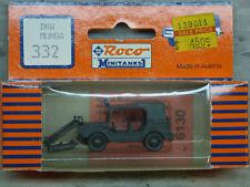 (NEW) Roco Minitanks Modern West German DKW Munga Patrol Jeep Lot #1872