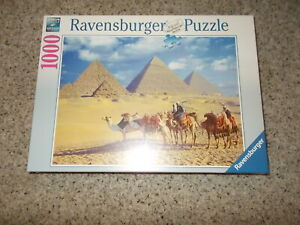 Ravensburger Pyramids of Ghiza 1000 Piece Puzzle NEW Sealed In Plastic