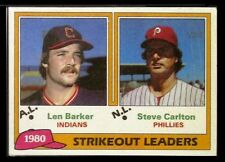 1981 Topps Baseball Grocery Cello Pack - 1980 Strikeout Leaders on Top - NM
