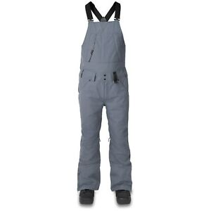 DAKINE Men's WYEAST BIB Snow Pants - Dark Slate - Large - NWT