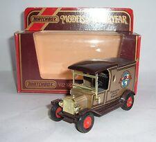 Matchbox Yesteryear No. Y-12, 1912 Model 'T' Ford, 'Motor 100' - Superb.