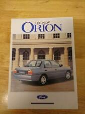 1990 Ford Orion Brochure