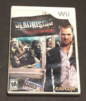 Dead Rising: Chop Till You Drop (Nintendo Wii) COMPLETE TESTED WORKS