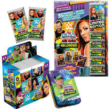 WWE Slam Attax Reloaded Trading Cards Karten Display, Starter, Booster