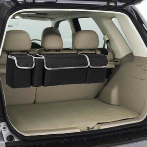 Universal Car Trunk Organizer Oxford Interior Accessory Back Seat Storage Bags