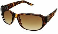 GUESS GU 6395 TO 34 Brown Tortoise Authentic Designer SUNGLASSES NEW AUTHENTIC