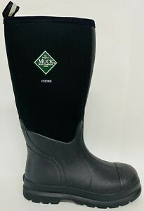 NEW CHH000A Muck Chore HI Black Work Boots sz 7,8,9,10,11,12,13  Tall Waterproof
