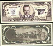 JOHN DILLINGER WANTED $100,000 DOLLAR - Lot of 10 bills