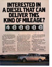 1982 VOLVO DEISEL  ~  GREAT ORIGINAL PRINT AD