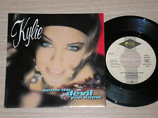 """KYLIE MINOGUE - BETTER THE DEVIL YOU KNOW - 45 GIRI 7"""" GERMANY"""