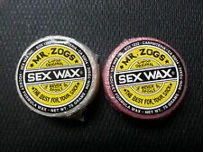 2 pack New Sex Wax Hockey Stick Wax Mr. Zogs for bauer ccm reebok easton