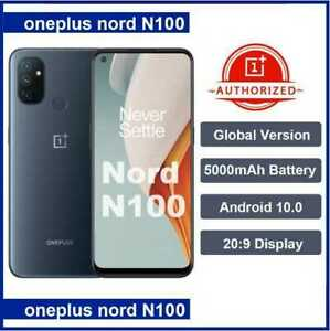 Oneplus Nord N100 4GB 64GB Smartphone Snapdragon 460 5000mAh Android 10 13MP Tri