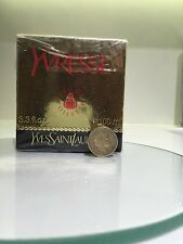NEW vintage YSL Yvresse Champagne Perfume Edt 100 ml Round Splash bottle Crystal