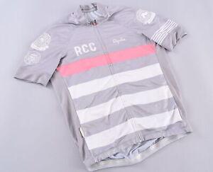 Rapha RCC Pro Team Cycling Jersey Men's Large CRCA Full Zip Gray Road Bike