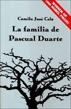La Familia de Pascual Duarte by J. Kronik, Camilo José Cela and H. Boudreau...