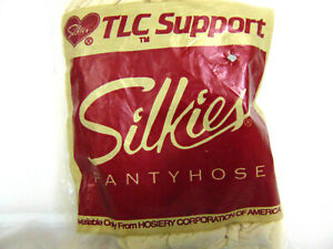 Silkies pantyhose TLC Support Lge Beige,Navy,Black or White. New. Free Ship