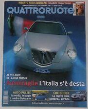 QUATTRORUOTE 12/2001 JEEP CHEROKEE 2.5 CRD – BMW 320D – AUDI A4 TDI AVANT