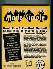 Contract Bridge Made Simple Book EX 050217nonjhe