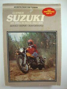 Suzuki Motorcycle Repair Manuals Literature 1978 Year Of Publication 1978 For Sale Ebay