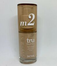 CoverGirl TruBlend Liquid Foundation Makeup Medium Light M2, 1.0 fl oz