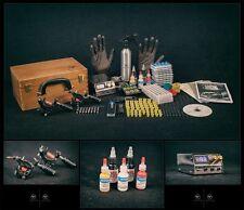 Kit Para Tatuar Reino Unido conjuntos Completo Pro Power Supply Profesional Suministros máquinas de tinta de EE. UU.