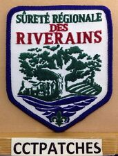 CANADA SURETE REGIONALE DES RIVERAINS POLICE SHOULDER PATCH