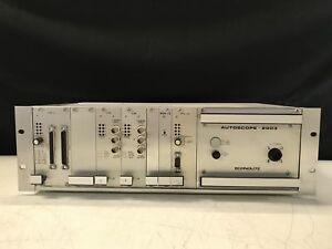 Econolite Control EIM-3 Autoscope 2003 Electronic Solutions Zero E809S-5109