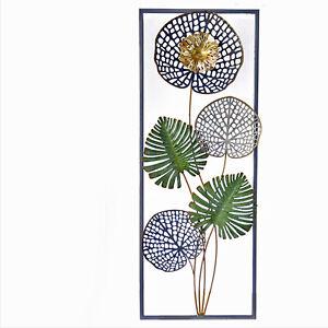 Wandobjekt Relief Ornament Blume Wandbild