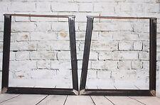 """Steel Bench Desk Table à pied jambe-industriel, Soudés, inachevée en acier 28"""""""