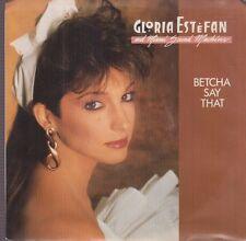 """gloria Estefan and Miami sound machine betcha say that 7"""" wlp promo ssobs"""