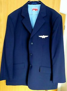 Cabin Crew Uniform Jacket With Wings Gents 44R