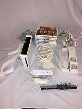 Nintendo Wii White Console Wii Sports Bundle controller, Sensor Bar & 9 Games