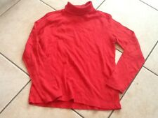 Sous Pull Rouge 10 Ans