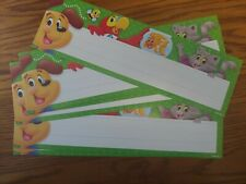 Educational/Teaching Supplies: Puppy and Friends Name Plates - School