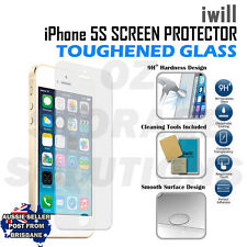 iwill Apple iPhone 5 5s Premium Tempered Glass clear Screen Protector