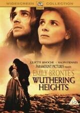 EMILY BRONTE'S WUTHERING HEIGHTS JULIETTE BINOCHE RALPH FIENNES UK REG 2 DVD NEW