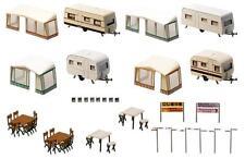 Faller H0 130503 Set Camping-Wohnwagen NEU/OVP
